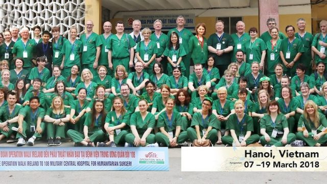 Operation Walk Ireland trip to Hanoi, Vietnam 2018